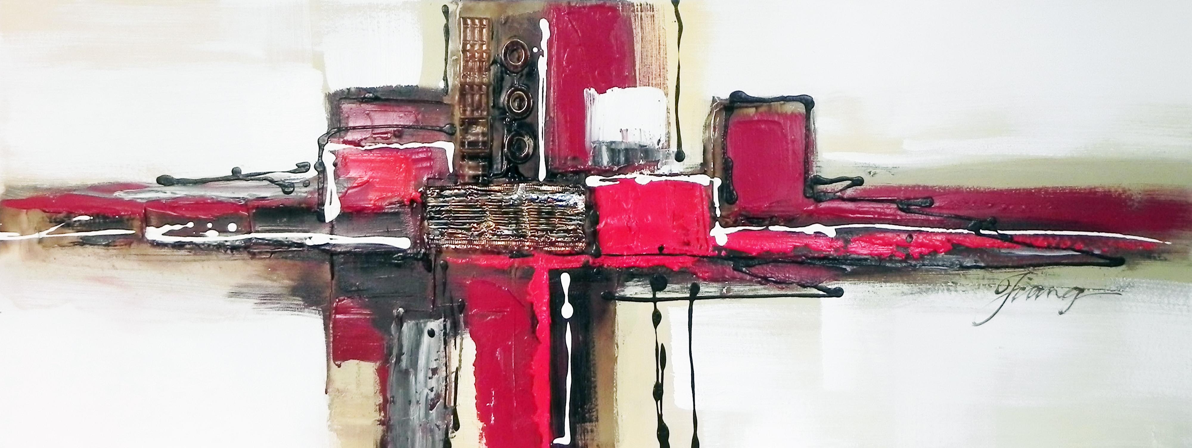 Osez le tableau contemporain pour votre salon - Tableaux contemporains pas cher ...