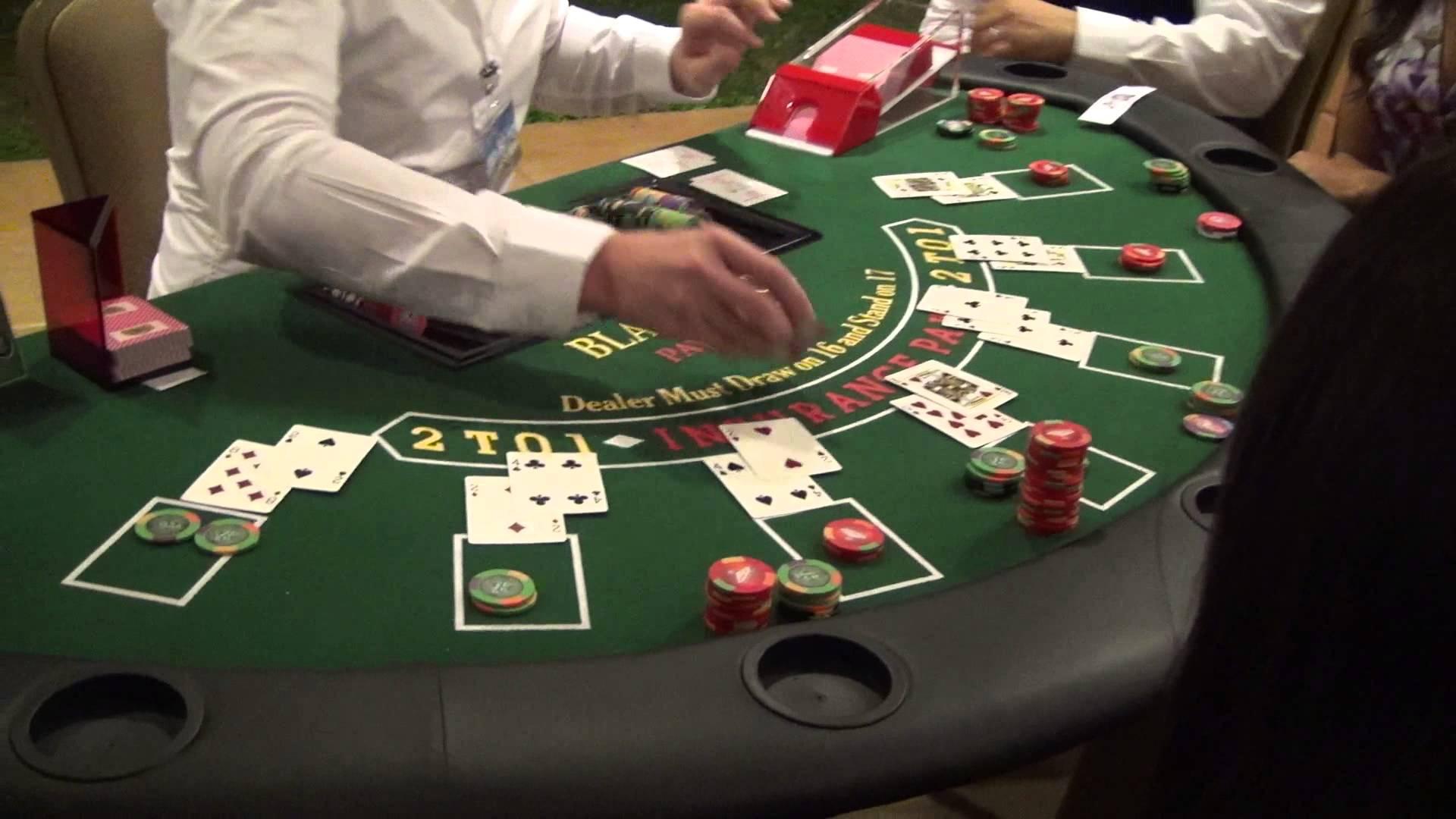 Pour vaincre un croupier au blackjack