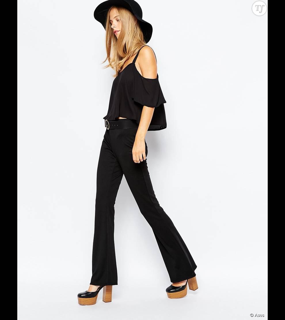 pantalon patte d eph un v tement qui revient la mode et que vous devez avoir dans votre. Black Bedroom Furniture Sets. Home Design Ideas