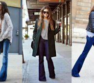 Pantalon patte d eph : c'est un pantalon des années 70 qui revient à la mode